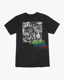0 Grillo Bone T-Shirt Black M426QRGR RVCA