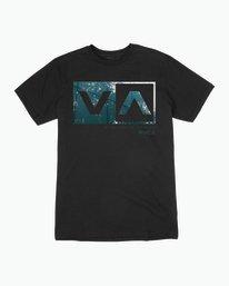 0 RVCA Reflection Box T-Shirt  M426QRRE RVCA