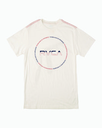 0 SPLITTER SEAL T-SHIRT White M4301RSP RVCA