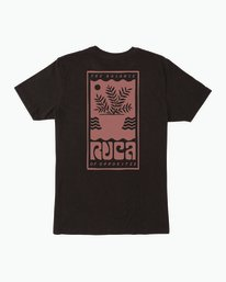 0 House Plant T-Shirt Black M430SRHO RVCA