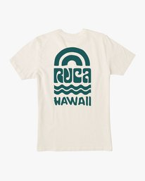 0 Rivey Hawaii T-Shirt  M430SRRS RVCA