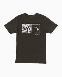 0 Islands Balance Box Fill T-Shirt Black M430TRBS RVCA