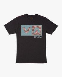 0 Balance T-Shirt Black M430URBA RVCA