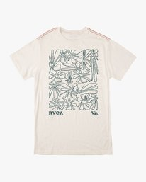 0 Beercroft Polinate T-Shirt White M430VRPO RVCA