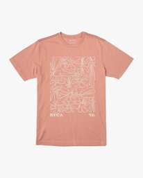 0 Beercroft Polinate T-Shirt Pink M430VRPO RVCA