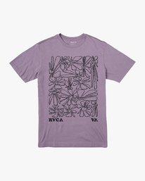 0 Beercroft Polinate T-Shirt Purple M430VRPO RVCA