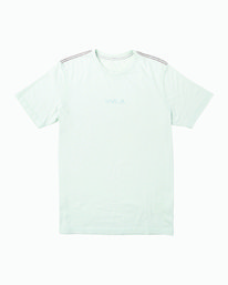 0 Small RVCA Embroidered TEE Blue M430VRSM RVCA