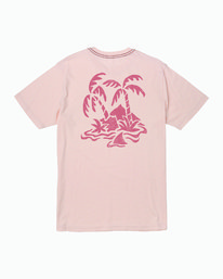 0 Castaway T-Shirt Pink M430WRCA RVCA