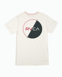 0 Lateral T-Shirt White M430WRLA RVCA