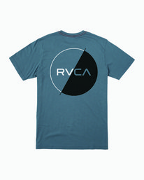 0 Lateral T-Shirt Blue M430WRLA RVCA