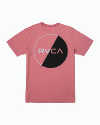 0 Lateral T-Shirt Grey M430WRLA RVCA