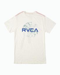 0 Smudge T-Shirt White M430WRSE RVCA