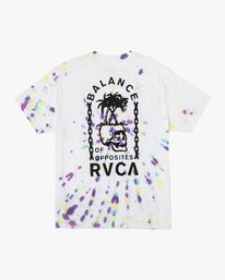 0 Chain Of Balance T-Shirt White M431VRBC RVCA