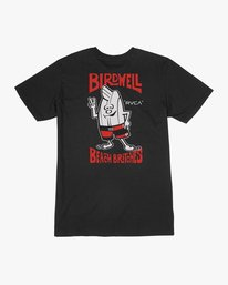 0 Birdwell Collab 01 T-Shirt  M434PRCL RVCA