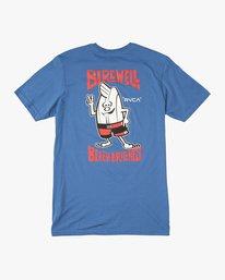 0 Birdwell Collab 01 T-Shirt Blue M434PRCL RVCA
