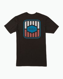 0 Milton T-Shirt Black M434SRMI RVCA