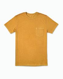 0 PTC 2 Pigment T-Shirt Red M437VRPT RVCA