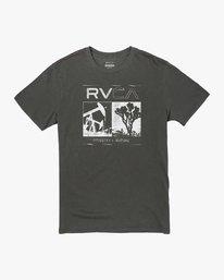 0 INDUSTRIAL VALLEY SHORT SLEEVE T-SHIRT Black M4383RIN RVCA