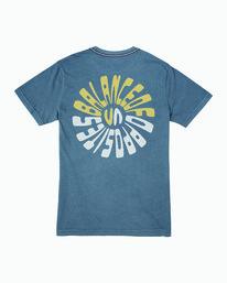 0 Impulse T-Shirt Blue M438WRIM RVCA