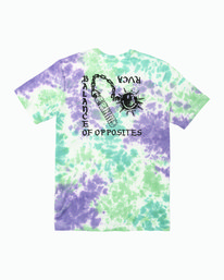 0 Morning Star Tie Dye T-Shirt Multicolor M446WRMO RVCA