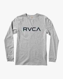 0 Big RVCA Long Sleeve T-Shirt  M451TRBI RVCA