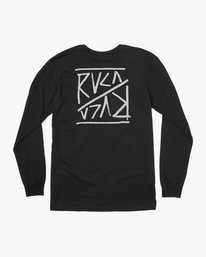 0 Flipper Long Sleeve T-Shirt  M451TRFL RVCA