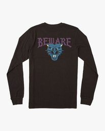0 Suzuki Beware Long Sleeve T-Shirt Black M451URBE RVCA