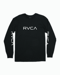 0 BIG RVCA LONG SLEEVE TEE  M451URBI RVCA