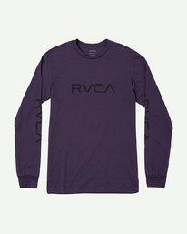 0 BIG RVCA LONG SLEEVE T-SHIRT  M451URBI RVCA