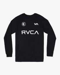 0 RVCA CLUB LS Black M451WRCE RVCA