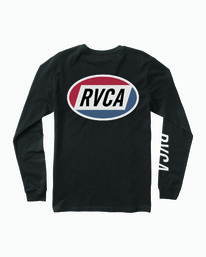 0 Cortex Long Sleeve T-Shirt Black M451WRCT RVCA