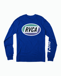 0 Cortex Long Sleeve T-Shirt Blue M451WRCT RVCA