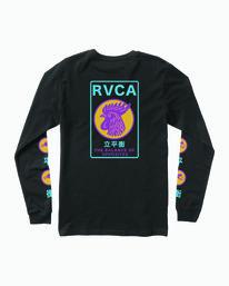 0 Take Out Long Sleeve T-Shirt Black M451WRTA RVCA