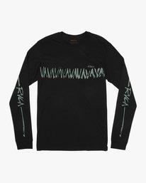 0 Dry Brush Long Sleeve T-Shirt  M453QRDR RVCA