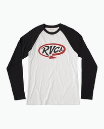 0 Looped T-Shirt  M454QRLO RVCA