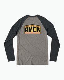 0 Roadside Baseball Raglan T-Shirt  M454SRRO RVCA