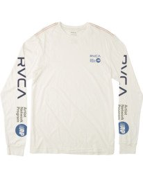 0 ANP LONG SLEEVE TEE White M4631RAN RVCA