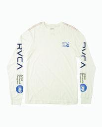 0 ANP LONG SLEEVE T-SHIRT White M4631RAN RVCA