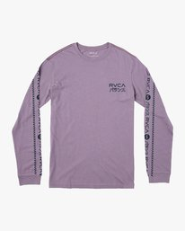 0 Int Haz Long Sleeve T-Shirt Purple M463VRIH RVCA