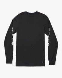 0 ANP Long Sleeve T-Shirt Black M463WRAN RVCA