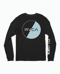 0 Lateral Long Sleeve T-Shirt Black M463WRLA RVCA