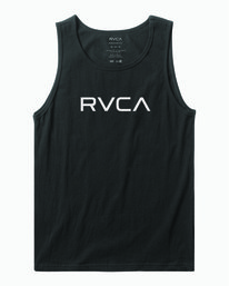 0 BIG RVCA TANK TOP Black M4812RBI RVCA