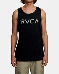 1 BIG RVCA TANK TOP Black M4812RBI RVCA