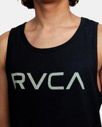4 BIG RVCA TANK TOP Black M4812RBI RVCA