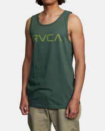 3 BIG RVCA TANK TOP Green M4812RBI RVCA