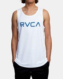 1 BIG RVCA TANK TOP White M4812RBI RVCA