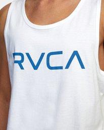 3 BIG RVCA TANK TOP White M4812RBI RVCA