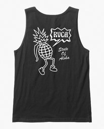 0 Happy Aloha Tank Top Black M481VRHA RVCA