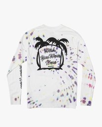 0 Wish You Were Here Long Sleeve TEE White M492VRWY RVCA