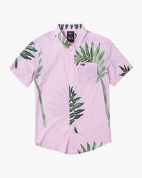 0 ROZICH SHORT SLEEVE SHIRT Pink M5013RRS RVCA